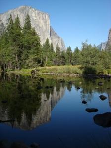 Merced River & El Capitan, Yosemite National Park