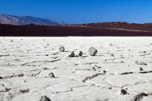 Dry lake bed at Fossil Falls